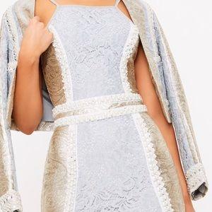 😍Jacquard Lace Premiums mini Dress 😍